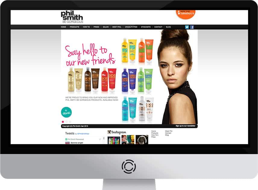 Web Design Aberdeen | Phil Smith Hair | Creative Impact