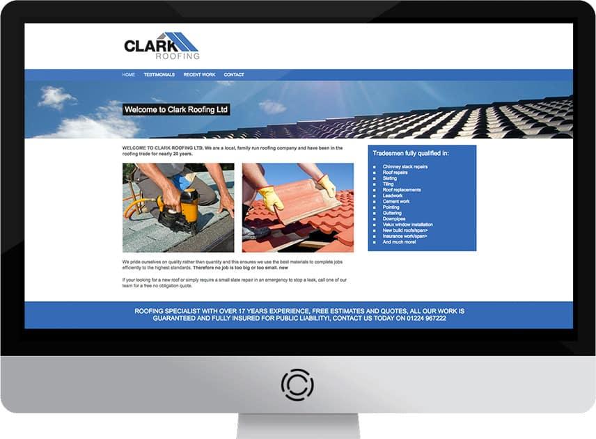 Web Design Aberdeen | Clarks Joinery | Creative Impact