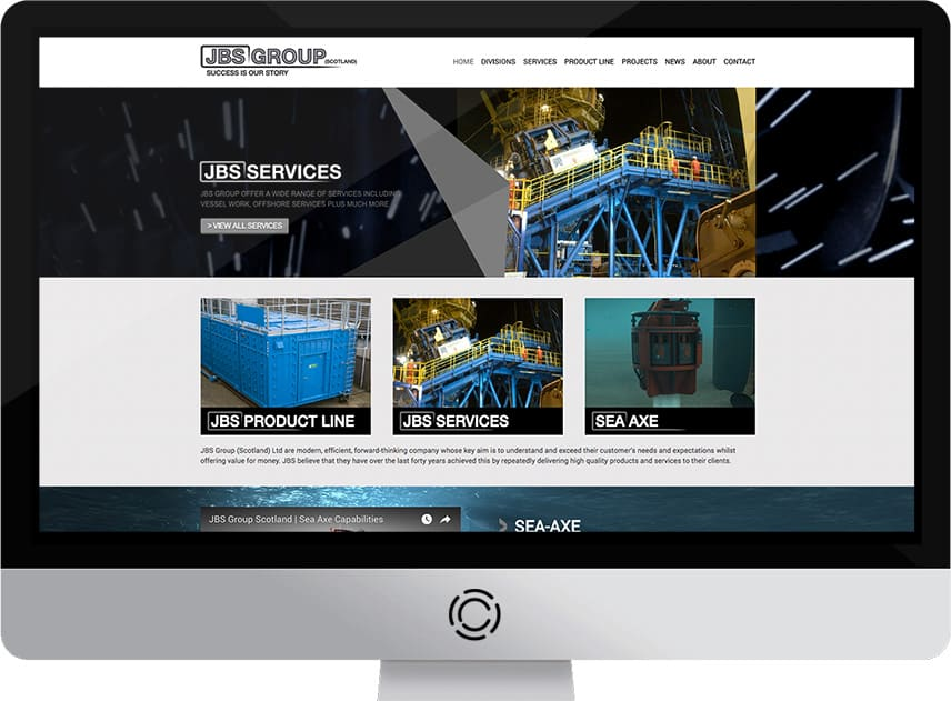 Web Design Aberdeen | JBS Group | Creative Impact