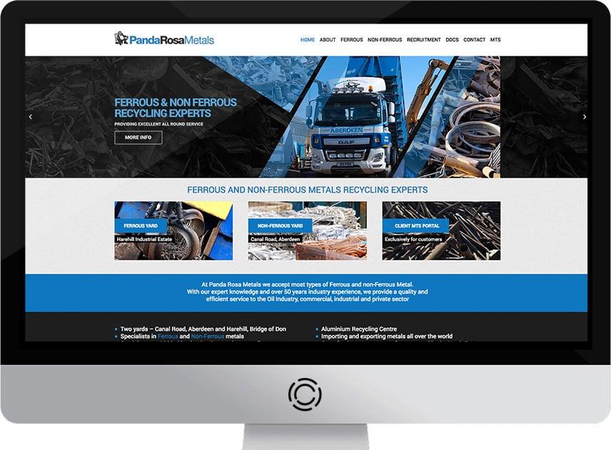 Web Design Aberdeen | Panda Rosa | Creative Impact