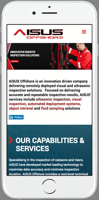 Web Design Aberdeen   Aisus Offshore   Creative Impact