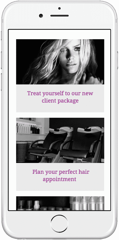 Web Design Aberdeen   Frederick Hair   Creative Impact
