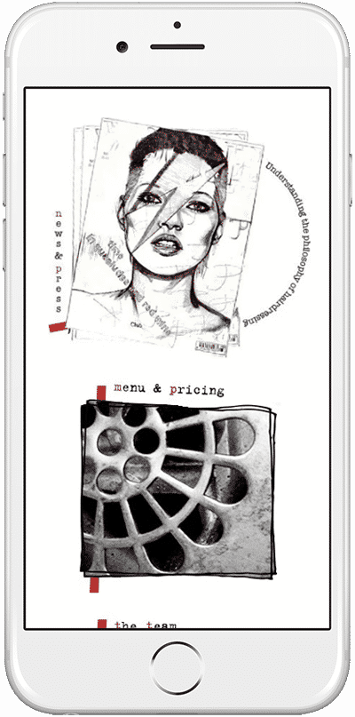 Web Design Aberdeen | Idlewild Hair | Creative Impact