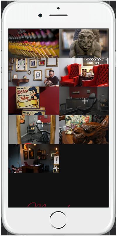 Web Design Aberdeen | Tattoo Rooms | Creative Impact