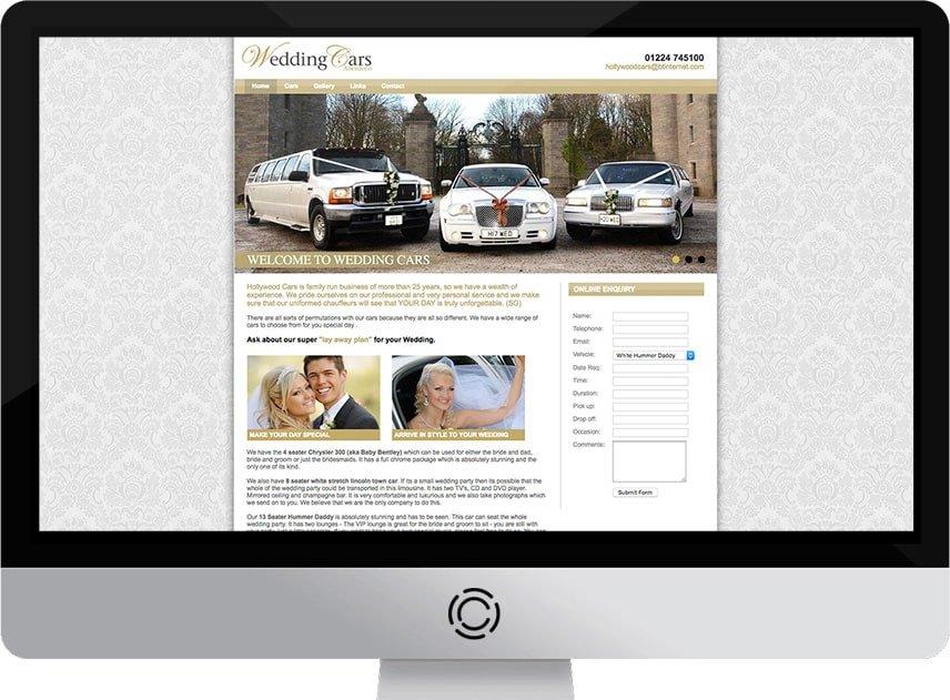Web Design Aberdeen | Aberdeen Wedding Cars