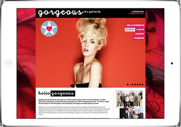 Web Design Aberdeen | Gorgeous Hair | Creative Impact