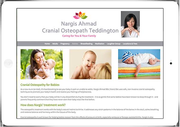 Web Design Aberdeen | Nargis Ahmad | Creative Impact